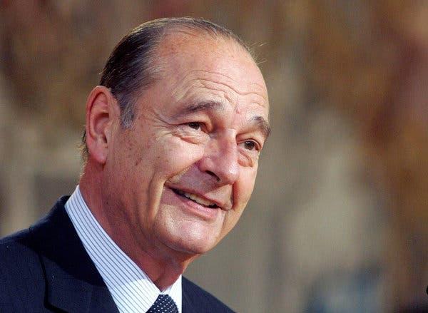 Morreu na manhã desta quinta-feira (26) o ex-presidente da França, Jacques Chirac
