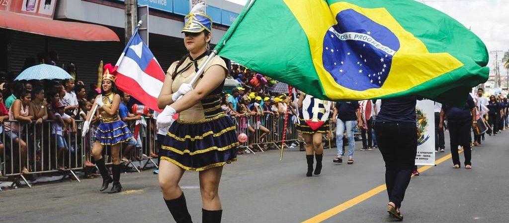 Independência do Brasil é celebrada na Gleba E e Parafuso em Camaçari