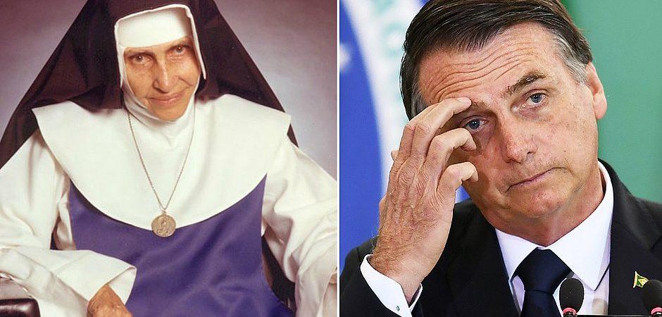 Bolsonaro cancela ida à missa de Irmã Dulce em Salvador