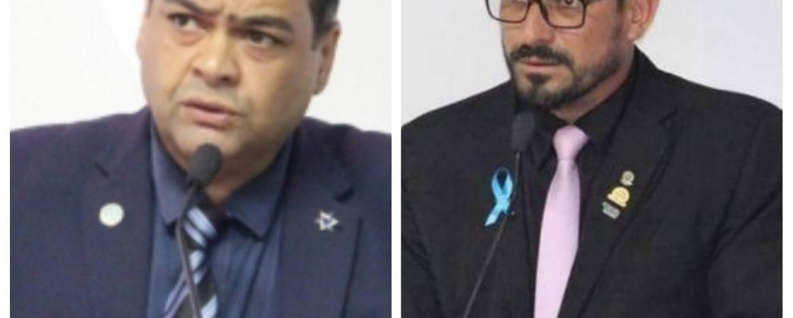Urgente: vereador Adailton Caçambeiro dá socos no rosto de Luciano Almeida em Simões Filho