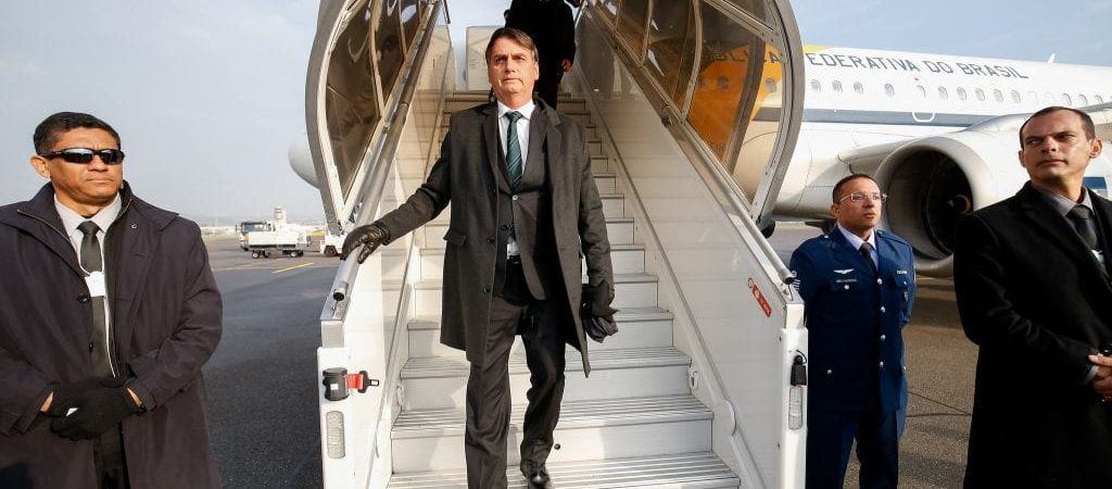 Bolsonaro e equipe já gastaram cerca de 1,2 milhão com viagens ao exterior