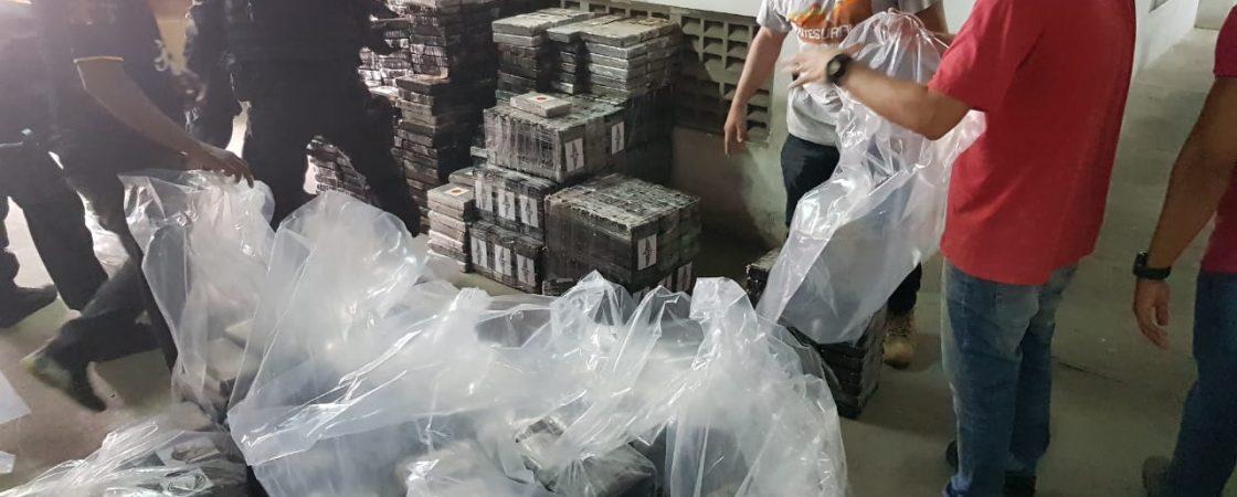 Bope e PF fazem maior apreensão de cocaína da Bahia