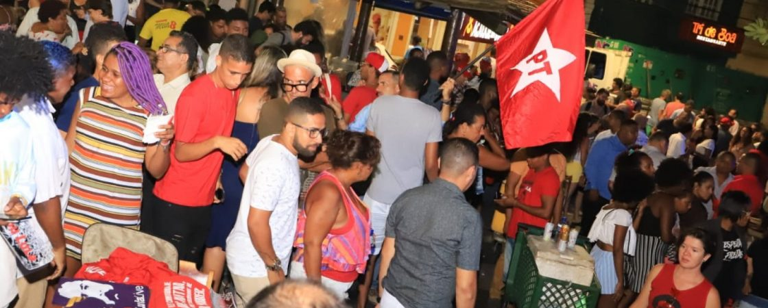 Salvador: petistas organizam homenagem a Lula no Rio Vermelho nesta sexta (8)