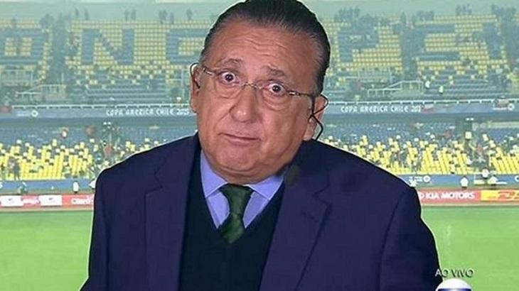 Final da Libertadores não terá narração de Galvão Bueno