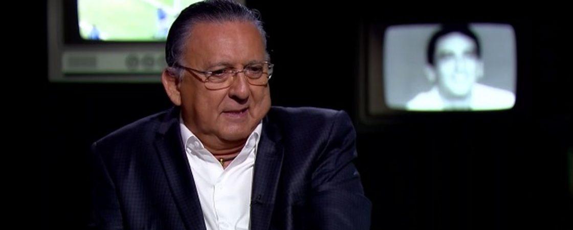 Galvão Bueno sente mal-estar e não vai narrar a final da Libertadores