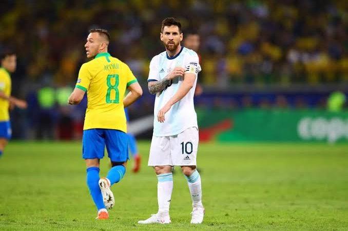Com Gol de Messi, Argentina vence amistoso contra o Brasil