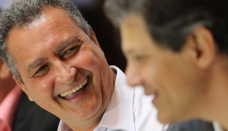 'Posso subir a rampa do Palácio da Alvorada com o companheiro Fernando Haddad, com o companheiro Rui', diz Lula