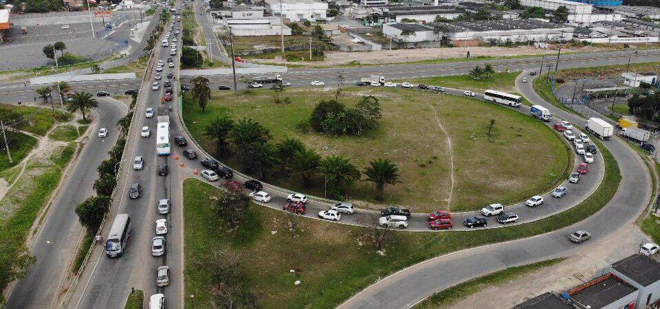 Camaçari: STT faz alterações no trânsito para garantir fluidez durante obras do viaduto