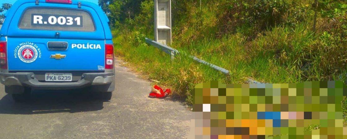 Corpo de mulher é encontrado caído às margens da Via Ipitanga, em Simões Filho