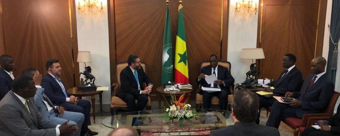 Governo Federal convida presidente do Senegal a visitar o Brasil no próximo ano