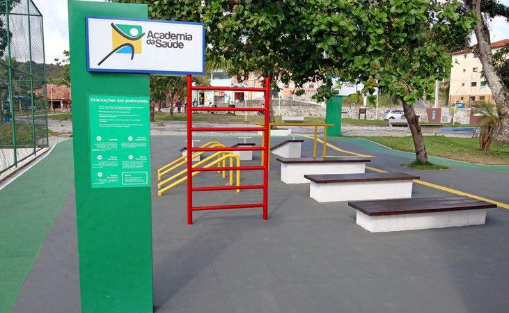 Sesab entrega academia da saúde à população de Mata de São João