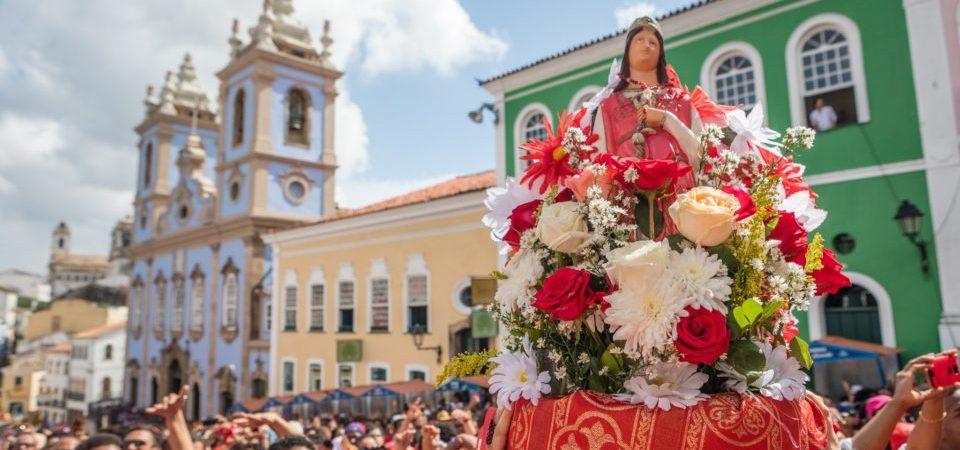 Festa de Santa Bárbara altera trânsito no centro de Salvador nesta quarta (4)