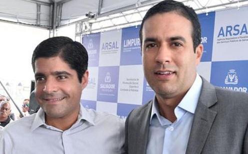 Eleições 2020: Neto oficializa Bruno Reis como candidato à prefeitura de Salvador