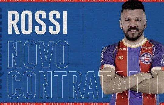 Bahia oficializa contratação do atacante  Rossi