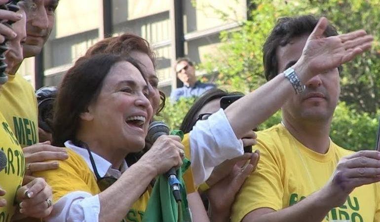 Regina Duarte comenta convite de Bolsonaro para a Secretaria da Cultura
