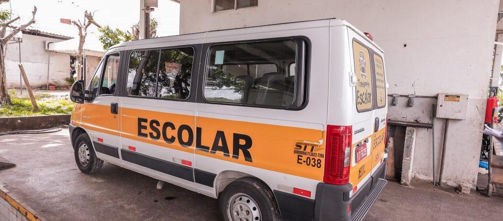 Vistoria em transporte escolar de Camaçari encerra nesta sexta-feira (21)