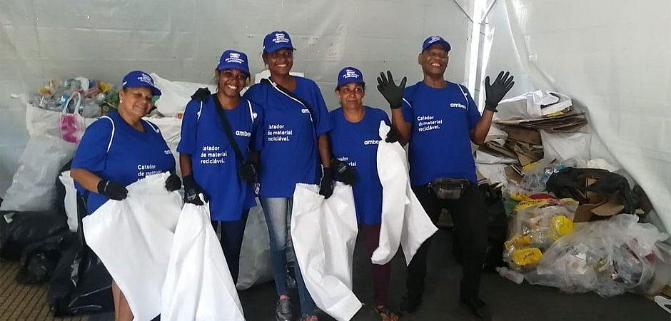 Lixo do Carnaval de Salvador será transformado em lixeiras