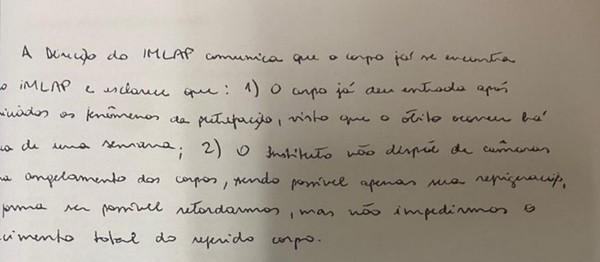 IML do RJ informa à Justiça que corpo do miliciano Adriano está apodrecendo