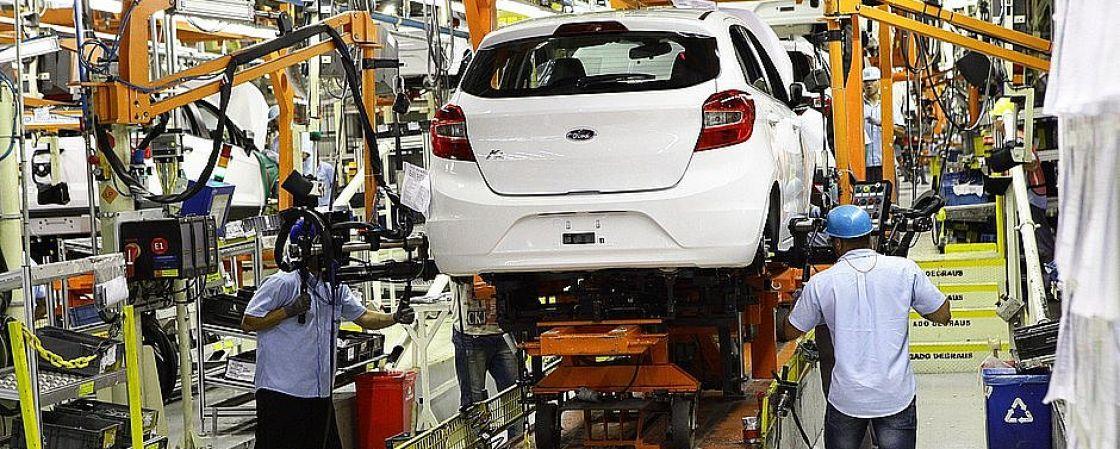 Camaçari: Ford estabelece férias coletivas e estende suspensão de produção na fábrica