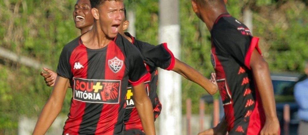 Sub-17: Vitória enfrenta o Goiás na estreia do Campeonato Brasileiro