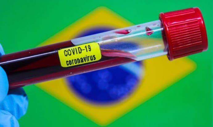 Brasil se torna 3° país com maior número de óbitos pela Covid-19