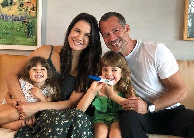 'Compartilhar uma boa notícia', diz Malvino Salvador ao anunciar chegada de mais um filho