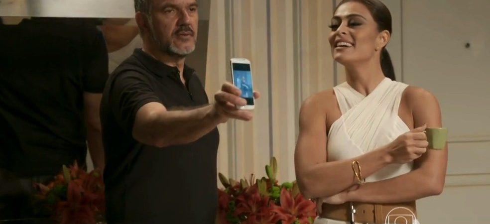 Totalmente Demais: Germano fica perplexo com foto de Lili saindo da casa de Rafael