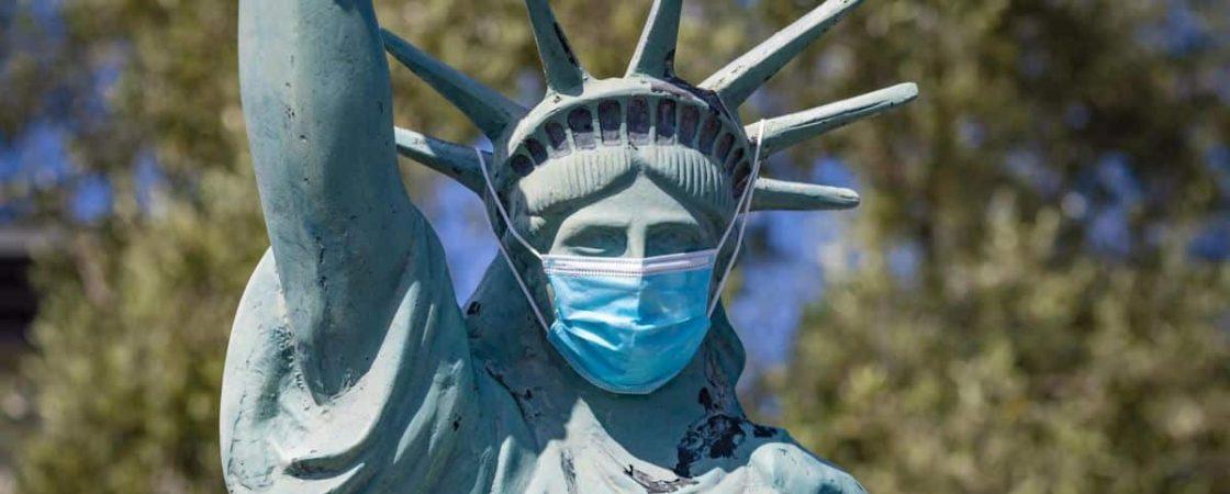 Covid-19: EUA registram 743 mortes nas últimas 24 horas