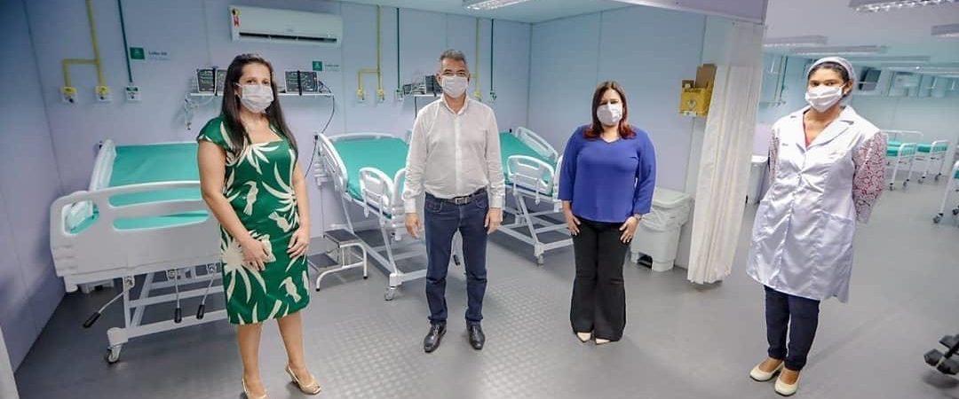 Após inauguração, Unidade de Enfrentamento ao Coronavírus será aberta amanhã (2), em Simões Filho