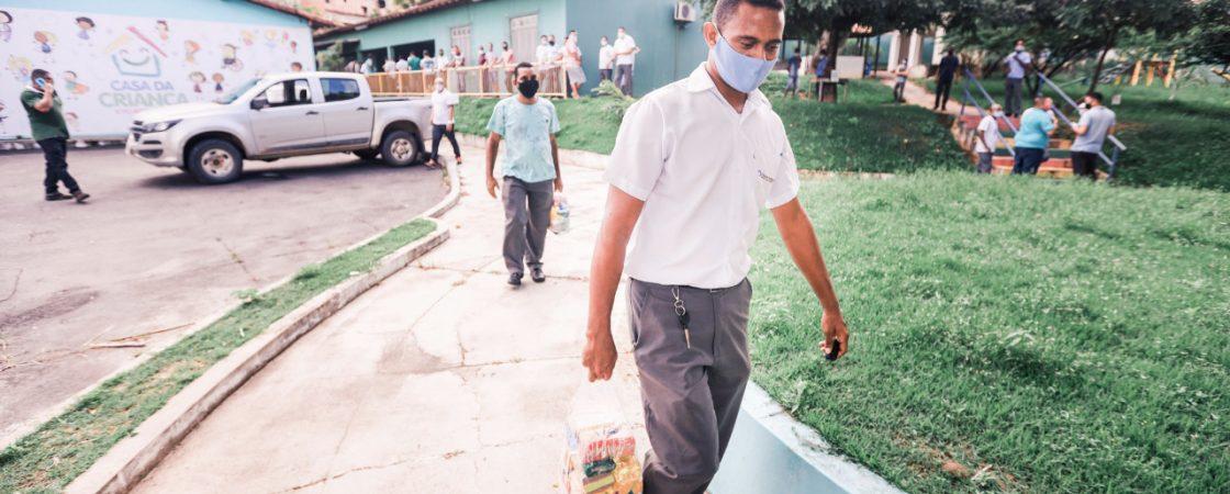 Colaboradores da VCI são beneficiados com entrega de cestas básicas em Camaçari