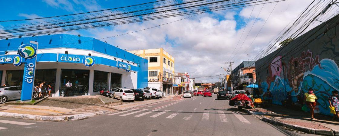 Prefeitura de Camaçari amplia bloqueio de ruas do Centro no combate a covid-19