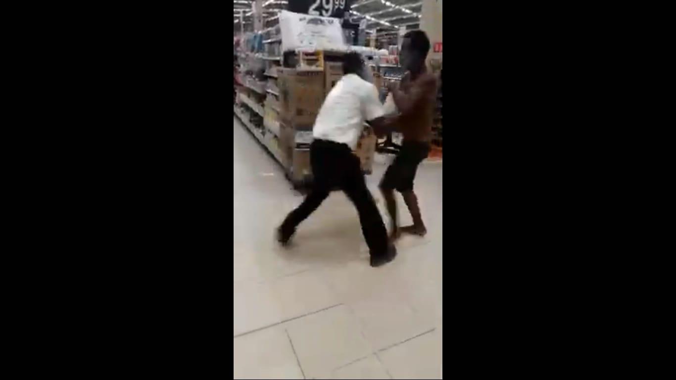 Homem tenta esfaquear segurança de supermercado em Itaparica