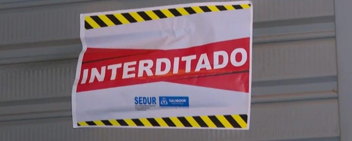 Em apenas um dia, 14 estabelecimentos foram interditados em Salvador