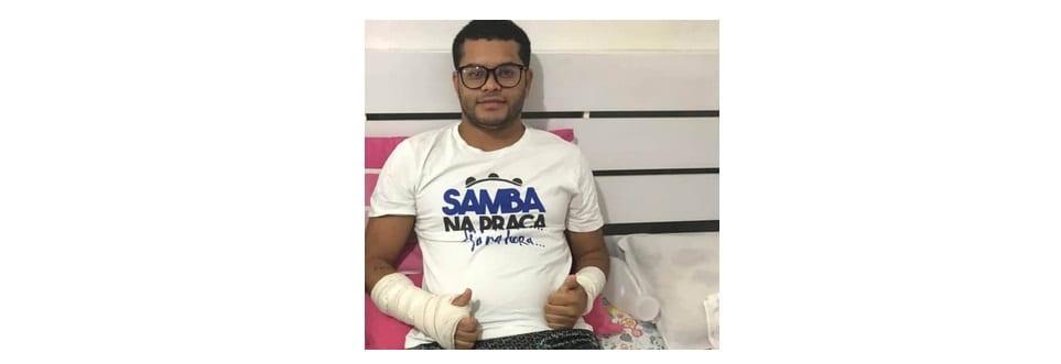 Camaçari: 'Corrente Solidária' arrecada donativos para ajudar produtor cultual, após acidente